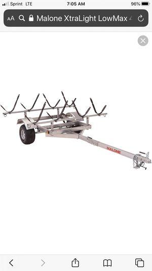 Malone XtraLight LowMax 4 Kayak Trailer for Sale in Bel Air, MD