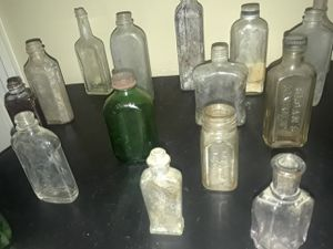 Antique glass bottles for Sale in Los Angeles, CA