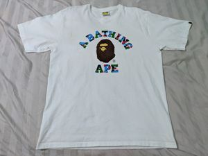 Bape College T-shirt white XL US large for Sale in Fort Worth, TX