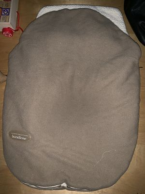 Bundle me car seat cover for Sale in Richfield, MN