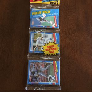 ⚾️ 1991 Donruss Series 1 Value Rack Pack 45 Cards Fresh Mint Factory Sealed for Sale in Fresno, CA
