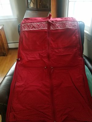 Vera Bradley garment bag for Sale in Wilbraham, MA