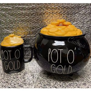 Rae Dunn POT O' GOLD Canister & Mug Set for Sale in Brooklyn, NY