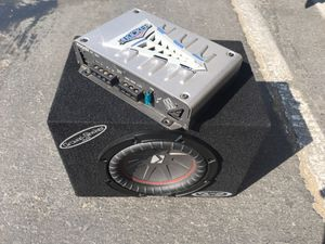 Amp and sub for Sale in Azusa, CA