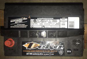 DEKA 12 VOLT 850 AMP PASSENGER CAR BATTERY for Sale in Aloha, OR