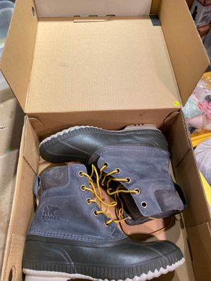 New in box sorel waterproof men's boot size 10.5 for Sale in Portland, OR