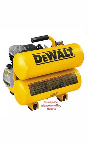 DeWALT D55153 Heavy-Duty 4 Gal Portable Air Compressor for Sale in Upper Marlboro, MD