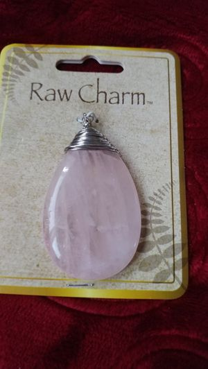 Beautiful charm. Light pink stone and sterling silver for Sale in Salt Lake City, UT