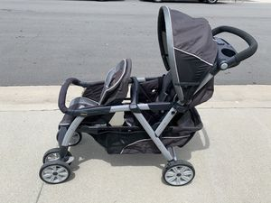 Chicco Cortina Together Double Stroller for Sale in Santa Clarita, CA