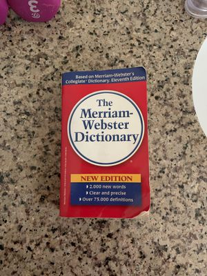 The Merriam-Webster dictionary for Sale in Sacramento, CA
