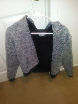 Size 14-16 Grey & Black Hoodie for Sale in Santa Maria, CA