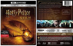Harry Potter 4K and Bluray 8 film box set - BRAND NEW for Sale in Miami, FL