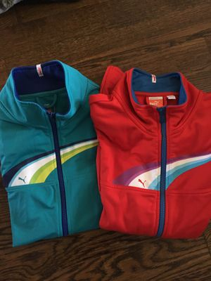 Three Puma Exercise Jackets- size small for Sale in Cary, NC