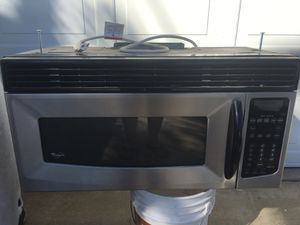 WHIRLPOOL OVER THE RANGE MICROWAVE for Sale in Claremont, CA