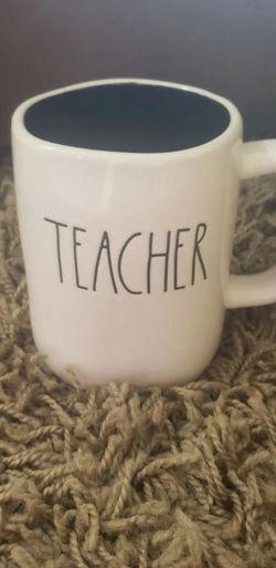 Rae Dunn Teacher Mug for Sale in Port Charlotte,  FL
