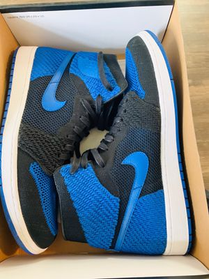 Fly knit Jordan 1 Size 13 Royals Lightly worn $150 obo for Sale in Olympia, WA