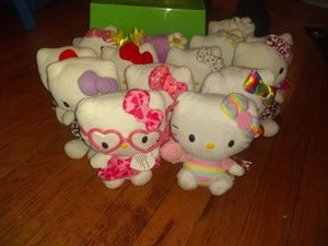 14 hello Kitty dolls for Sale in Palmer, MA