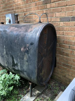 Oil Tank With Fuel for Sale in Richmond, VA