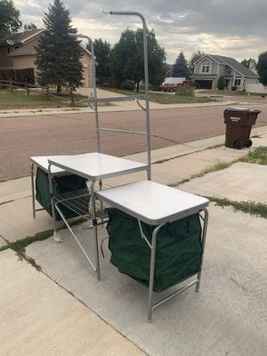 Cabelas camping kitchen with sink for Sale in Colorado Springs, CO