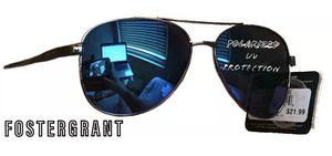Foster Grants Aviator Mens Sunglasses Impact Resistant w Blue Polarized Lenses for Sale in Enterprise, NV