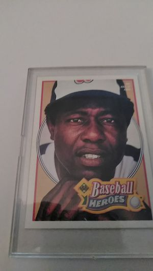 Baseball Heroes *Upper Deck card #26 *Hank Aaron for Sale in Shelton, CT