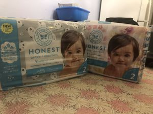 Honest Diapers size 2 for Sale in Hyattsville, MD