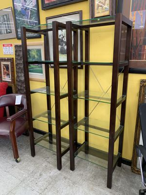 Upright shelving unit for Sale in Chicago, IL
