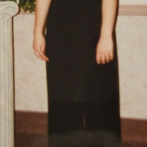 Beautiful Dave & Johnny Black Evening Gown Prom Dress size 13/14 for Sale in Las Vegas, NV