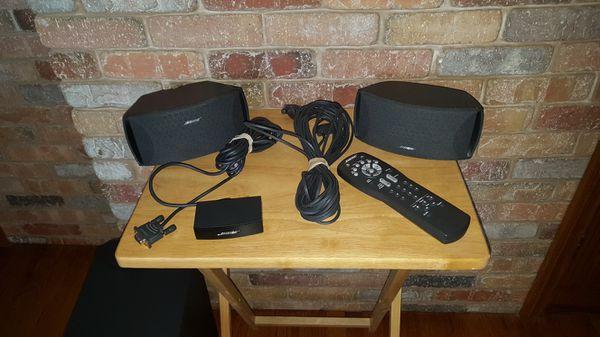 Bose CineMate Digital Home Theater Speaker System Subwoofer