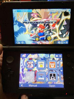 Nintendo 3ds XL with Pokémon games for Sale in San Antonio, TX