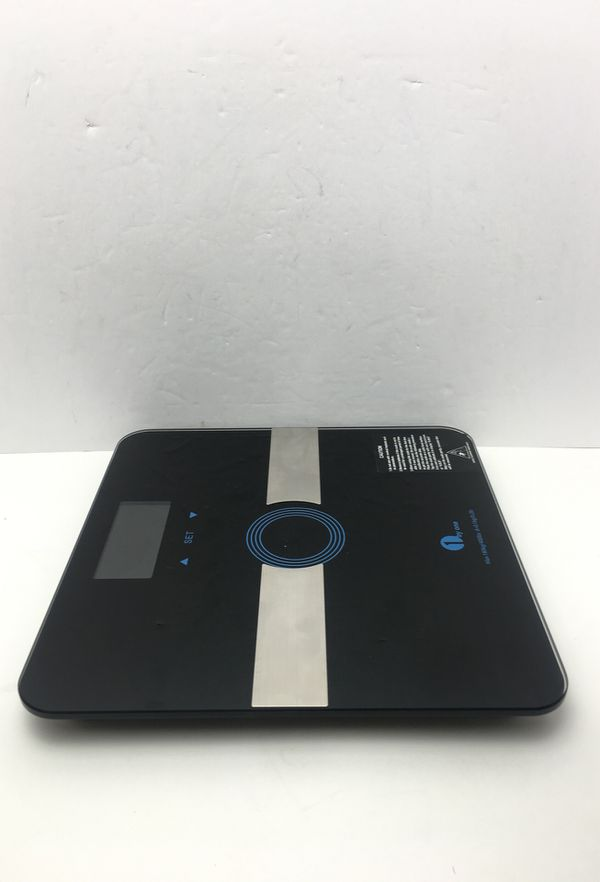 Precision Digital Body Weight Scale Bathroom Scale with Step-on Technology