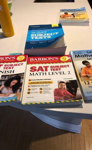 SAT test book. for Sale in Laguna Beach, CA