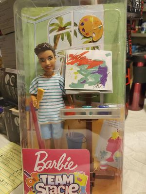 Barbie Team Stacie Friend doll art class play set for Sale in Vancouver, WA