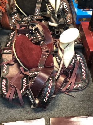 New Leather Horse saddles for Sale in Murrieta, CA