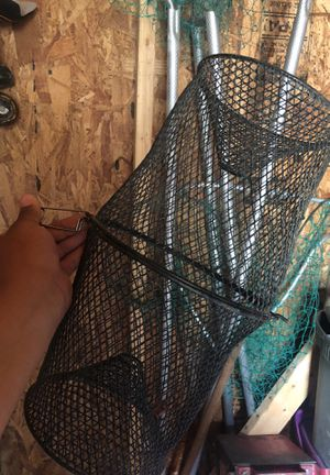 Eel fishing trap for Sale in Oxon Hill, MD