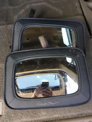 Eddie Bauer car seat mirrors for Sale in Auburn, WA