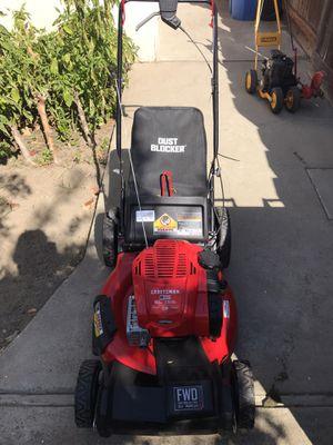 LIKE NEW craftsman lawn mower self propelled for Sale in Turlock, CA