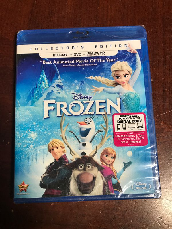 Disney Frozen blu-ray dvd movie
