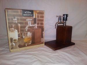 Wood Whiskey Dispenser for Sale in Port St. Lucie, FL