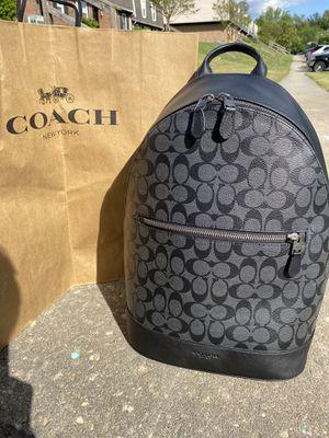 Coach Mens West Slim Backpack for Sale in Petersburg, VA