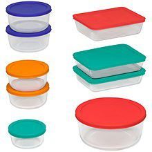 New Pyrex 18 piece glass storage containers for Sale in Queens, NY