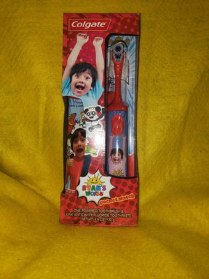 Colgate New Brian's World Electric Toothbrush And Toothpaste for Sale in Scottsbluff, NE
