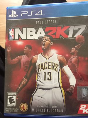 Nba 2k17 for Sale in Gaithersburg, MD