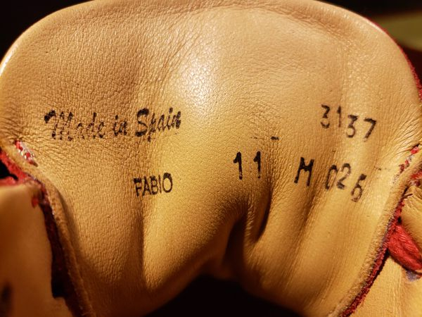 Mezlan Fabio Sneakers Mens Size 11