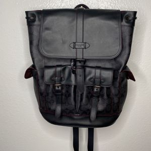 Designer Coach Leather Backpack ✨ for Sale in San Diego, CA