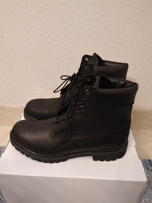 "6"" Timberland Boots all black size 11 men for Sale in San Leandro, CA"