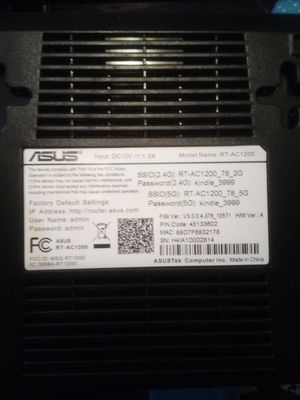 Asus wireless dual-band USB router for Sale in Richland Hills, TX