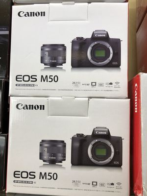 Canon M50 Camera Kit Lens Brand New Now for Sale in Corona, CA