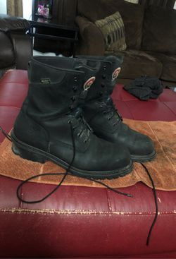 Steel toe iresh setter red wing boots for Sale in Las Vegas,  NV