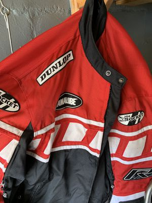 Yamaha motorcycle jacket almost brand new never used not a single scratch on it the size is 2xlreally nice!selling because it's big on me if interest for Sale in Dartmouth, MA